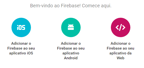 onde pegar as configuracoes do firebase - angular 2 e firebase